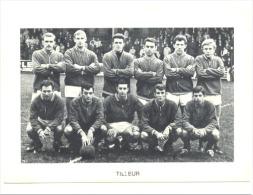 Chromo/Photo (8,5 X12,5 Cm) - Equipe De Football Belge - TILLEUR (Liège) (b159) Joueur, Sport, Ballon - Football