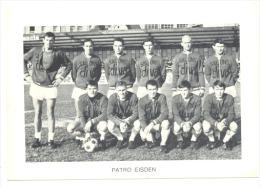 Chromo/Photo (8,5 X12,5 Cm) - Equipe De Football Belge - PATRO EISDEN  (b159) Joueur, Sport, Ballon - Football