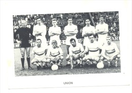 Chromo/Photo (8,5 X12,5 Cm) - Equipe De Football Belge - UNION  (b159) Joueur, Sport, Ballon - Football