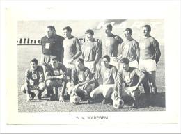 Chromo/Photo (8,5 X12,5 Cm) - Equipe De Football Belge - S.V. WAREGEM (b159) Joueur, Sport, Ballon - Football