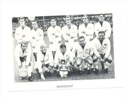 Chromo/Photo (8,5 X12,5 Cm) - Equipe De Football Belge - BEERSCHOT (b159) Joueur, Sport, Ballon - Football