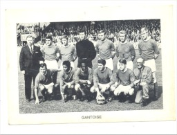 Chromo/Photo (8,5 X12,5 Cm) - Equipe De Football Belge -GANTOISE ( Gent) (b159) Joueur, Sport, Ballon - Football