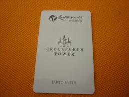 Singapore - Crockfords Tower Hotel Room Key Card - Greece