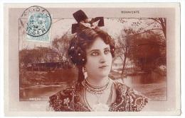 POISSY (78) – BENAVENTE, Artiste Art Nouveau. Studio Reutlinger Paris. Editeur S.I.P. N° 1200. - Poissy