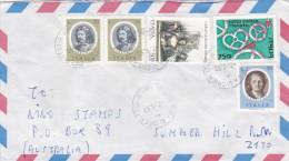 Italy 1993 Cover Sent To Australia, With 50 Lire X 3,500 Lire Goldoni, 750 Lire Health - 6. 1946-.. Republic