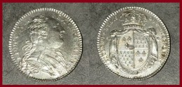 Jeton LOUIS XVI REX CHRISTIANISS ETAT DE BRETAGNE 1786 6.9 Gr TTB - 1774-1791 Lodewijjk XVI Van Frankrijk