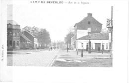 Camp De Beverloo Rue De La Régence - Leopoldsburg (Kamp Van Beverloo)