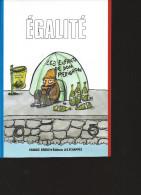 CHARLIE HEBDO  Egalité éditions Les échappés - Humour