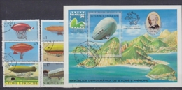 Sao Tome E Principe 1979 Zeppelin/Balloons 6v+m/s Used (F2706) - Sao Tome En Principe
