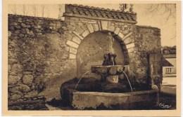 Cpa JOUQUES Fontaine Du Vieux Mouilin - France
