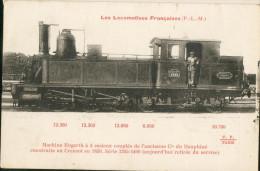 Les Locomotives Françaises P L M 1395 - Trains
