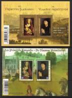 Belgie 2010   BF 185 De Vlaamse Primitieven + Samen Frank. F4525   *** - Blocs 1962-....