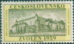 JK0220 Czechoslovakia 1959 Castle 1v MNH - Tchécoslovaquie