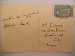Cote Françaises Des Somalis Carte Pour Barcelonnette - Lettres & Documents