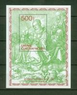 Central African Republic 1979,1 Block,paintings,schilde Rijen,gemälde,peintures,pinturas,quadri,Dürer,MNH/Postfris(A1423 - Kunst