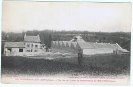 MONTREUIL-AUX-LIONS (Aisne)  Une Des Vues De L'usine De Passementerie De MM CAEN Frères - Other Municipalities