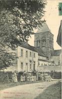 THIBIE  L'école Des Filles  L'église - Autres Communes