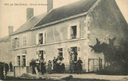 DRY Par CLERY  Colonie ST GERVAIS - Francia