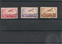 FRANCE  1936 P.A. N° Y&T 11/13 Oblitérés Côte: 38,50 € - 1927-1959 Afgestempeld