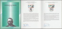 """Bund + Australia: Minister Card - Ministerkarte Mi-Nr.1889:"""" Ferdinand Von Mueller """" Joint Issue Gemeinschaftsausgabe X - [7] Federal Republic"""
