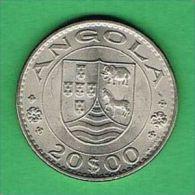 Z006 Angola 20 Escudos 1971 - Angola