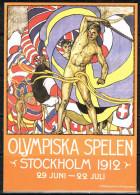 """Schweden 1996 """" Sonderganzsache Olymp. Spiele 1912 """"  Gestemp. / Used / Oblitaire"""