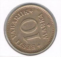 ESTLAND Estonia Estonie 10 Marka 1925 - Estonie
