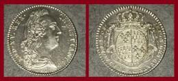 Jeton LOUIS XV REX CHRISTIANISS ETAT DE BRETAGNE 1768 6.1 Gr SUP - 1715-1774 Lodewijk XV Van Frankrijk
