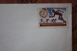 USSR - Lenin Flat In Kremlin- 1965  - Postal Stationery Envelope Cover - Sport   Estafette Stamp - Lettres & Documents