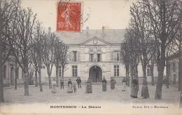Montesson 78 -  Mairie - Editeur Nardo à Montesson - Cachet Montesson 1908 - Montesson