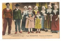 09 Liadoures, Types Massatois. Concours De Costumes  (11975) - Other Municipalities