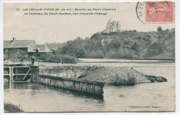Vt*/ 49 - La Jaille-Yvon : Moulin Du Petit Chenillé Et Château Du Haut-Rocher Sur Chenillé-Changé - Frankreich