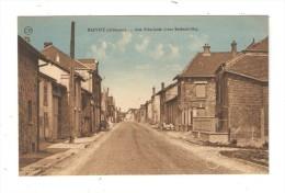 CPA  08 -  Hauviné, Rue Principale Vers Betheniville,: Maisons - Carte Colorisée - France