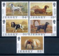 Jersey 1988 / Dogs MNH Perros Hunde / Iw29   1 - Hunde