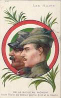 LES ALLIES -DE LA SICILE AU PIEMONT-TOUTE L'ITALIE EST DEBOUT POUR LE DROIT ET LA LIBERTE N°44 - Militares