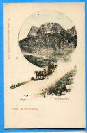EGG1022, Alpenpost, Poste De Montagne, Calèche, Diligeance, Non Circulée - Non Classés