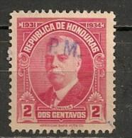 Timbres - Amérique - Honduras - 1931/34 - 2 Centavos - - Honduras
