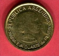 50 CENTAVOS PERON  SUP 4 - Argentine