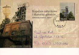 "Poland Pologne, Postal Stationery, Mining, Coal Mine, Charbon, Museum In Former Mine ""Ignacy"" 2010. - Minéraux"