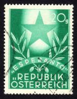 ÖSTERREICH 1949 - Esperanto Kongress - Esperanto