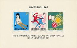 "Luxembourg 1969 - Bloc N° 8 - ""Juventus 1969"" - Timbre Yvert & Tellier N° 735-736 Et 737 - Blocs & Feuillets"