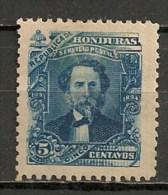 Timbres - Amérique - Honduras - 1893/94 - 5 Centavos - - Honduras