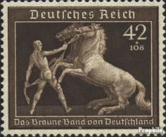 Deutsches Reich 699 (kompl.Ausg.) Mit Falz 1939 Das Braune Band - Unused Stamps