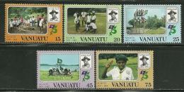 """Vanuato       """"Scouts""""      Set    SC# 337-41    MNH** - Vanuatu (1980-...)"""