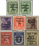 Sowjetische Zone (All.Bes.) 200-206 (mit 200A Und B) (kompl.Ausg.) Postfrisch 1948 SBZ-Aufdruck - Soviet Zone