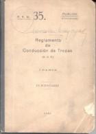 REGLAMENTO DE CONDUCCION DE TROPAS I PARTE AÑO 1943 411 PAGINAS - War 1914-18