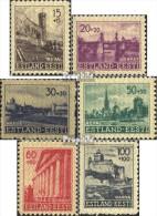 Estland (Dt.Bes.2.WK.) 4-9 (kompl.Ausg.) Postfrisch 1941 Wiederaufbau Von Estland - Ocupación 1938 – 45