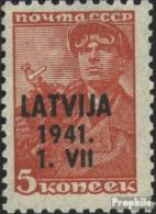 Lettland (Dt.Bes.2.WK.) 1 Postfrisch 1941 Latvija - Ocupación 1938 – 45