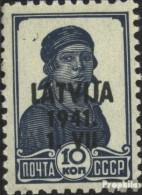 Lettland (Dt.Bes.2.WK.) 2 Postfrisch 1941 Latvija - Ocupación 1938 – 45