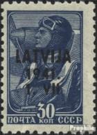 Lettland (Dt.Bes.2.WK.) 5 Postfrisch 1941 Latvija - Ocupación 1938 – 45